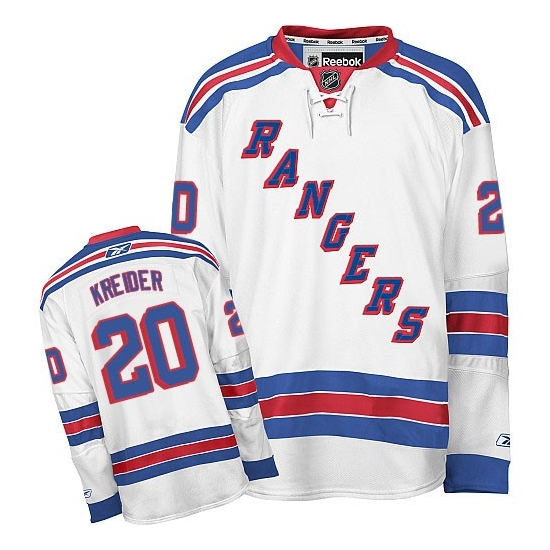 New York Rangers Away Jersey