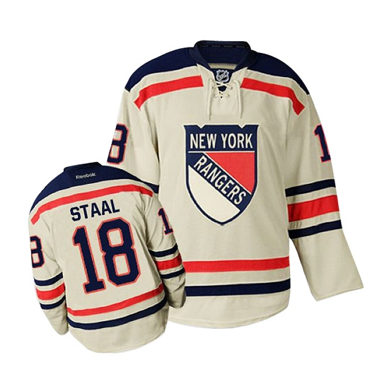 Reebok marc staal new york rangers premier 2012 winter classic jersey