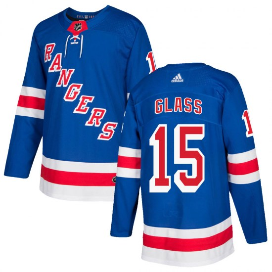 Adidas Tanner Glass New York Rangers Authentic Home Jersey - Royal Blue
