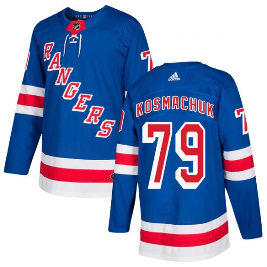 Adidas Scott Kosmachuk New York Rangers Authentic Home Jersey - Royal Blue