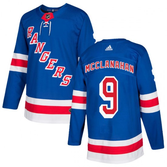Adidas Rob Mcclanahan New York Rangers Authentic Home Jersey - Royal Blue