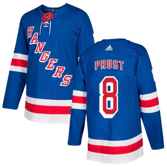 Adidas Brandon Prust New York Rangers Authentic Home Jersey - Royal Blue