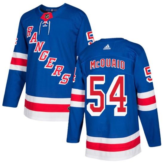 Adidas Adam McQuaid New York Rangers Youth Authentic Home Jersey - Royal Blue