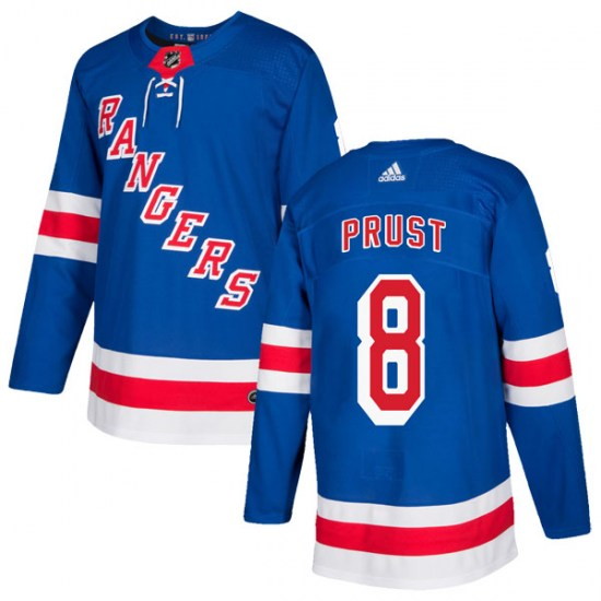 Adidas Brandon Prust New York Rangers Youth Authentic Home Jersey - Royal Blue