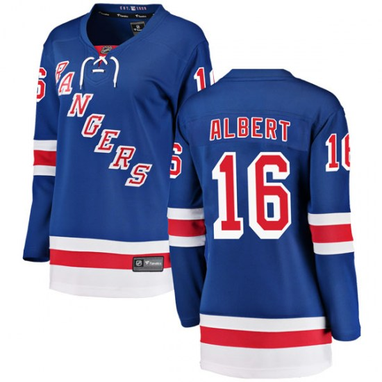 Fanatics Branded John Albert New York Rangers Women's Breakaway Home Jersey - Blue
