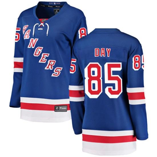 Fanatics Branded Sean Day New York Rangers Women's Breakaway Home Jersey - Blue
