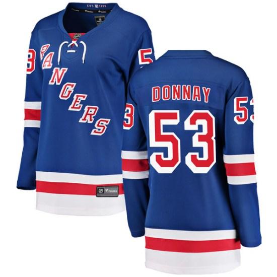 Fanatics Branded Troy Donnay New York Rangers Women's Breakaway Home Jersey - Blue