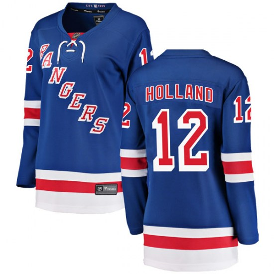 Fanatics Branded Peter Holland New York Rangers Women's Breakaway Home Jersey - Blue