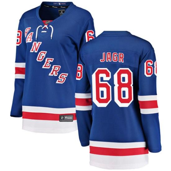 Fanatics Branded Jaromir Jagr New York Rangers Women's Breakaway Home Jersey - Blue