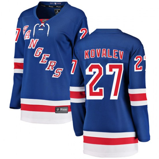 Fanatics Branded Alex Kovalev New York Rangers Women's Breakaway Home Jersey - Blue
