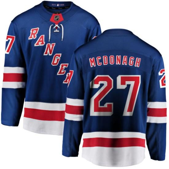 Fanatics Branded Ryan McDonagh New York Rangers Home Breakaway Jersey - Blue