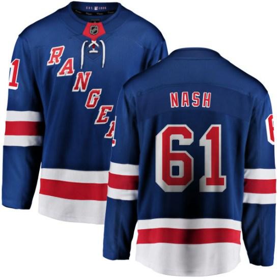 Fanatics Branded Rick Nash New York Rangers Home Breakaway Jersey - Blue