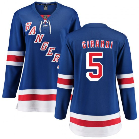 Fanatics Branded Dan Girardi New York Rangers Women's Home Breakaway Jersey - Blue