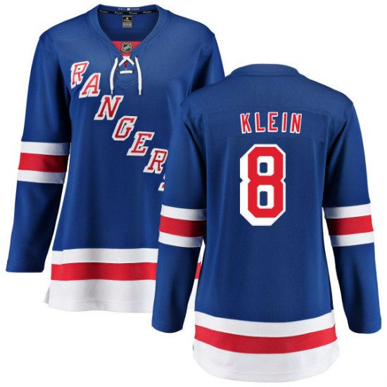 Fanatics Branded Kevin Klein New York Rangers Women's Home Breakaway Jersey - Blue