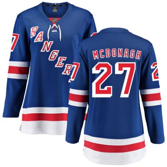 Fanatics Branded Ryan McDonagh New York Rangers Women's Home Breakaway Jersey - Blue