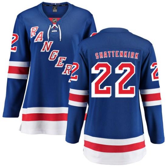Fanatics Branded Kevin Shattenkirk New York Rangers Women's Home Breakaway Jersey - Blue