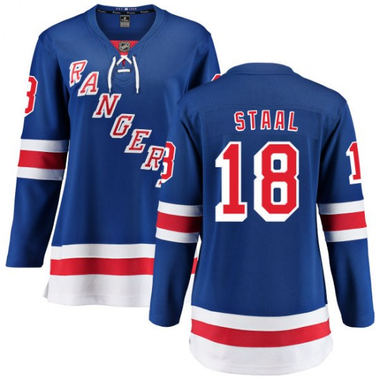 Fanatics Branded Marc Staal New York Rangers Women's Home Breakaway Jersey - Blue