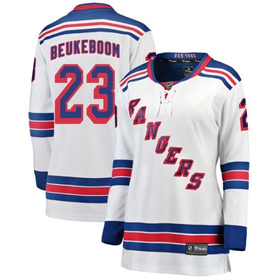 Fanatics Branded Jeff Beukeboom New York Rangers Women's Breakaway Away Jersey - White