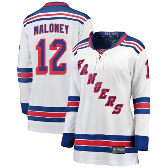 Fanatics Branded Don Maloney New York Rangers Women's Breakaway Away Jersey - White