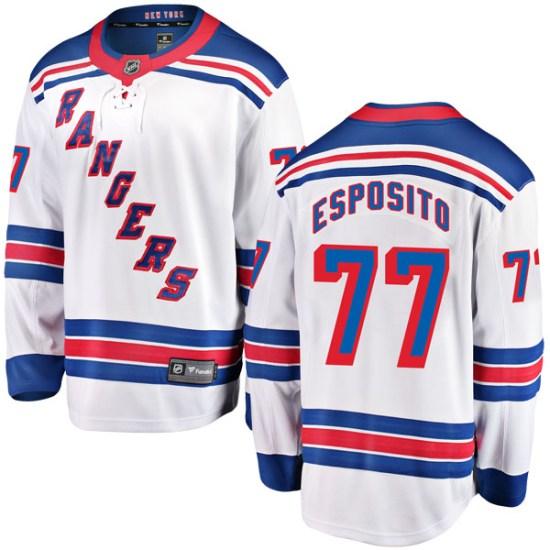 Fanatics Branded Phil Esposito New York Rangers Breakaway Away Jersey - White