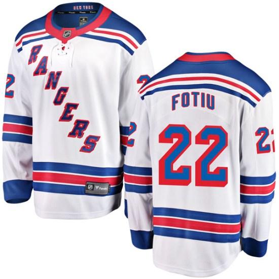 Fanatics Branded Nick Fotiu New York Rangers Breakaway Away Jersey - White