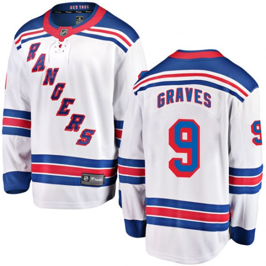 Fanatics Branded Adam Graves New York Rangers Breakaway Away Jersey - White