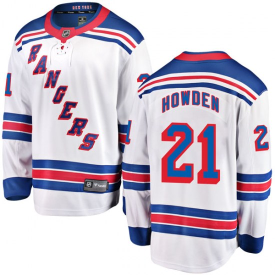 Fanatics Branded Brett Howden New York Rangers Breakaway Away Jersey - White