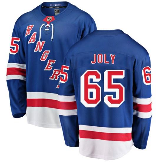 Fanatics Branded Michael Joly New York Rangers Breakaway Home Jersey - Blue