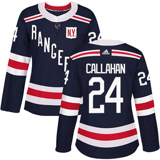 Adidas Ryan Callahan New York Rangers Women's Authentic 2018 Winter Classic Home Jersey - Navy Blue