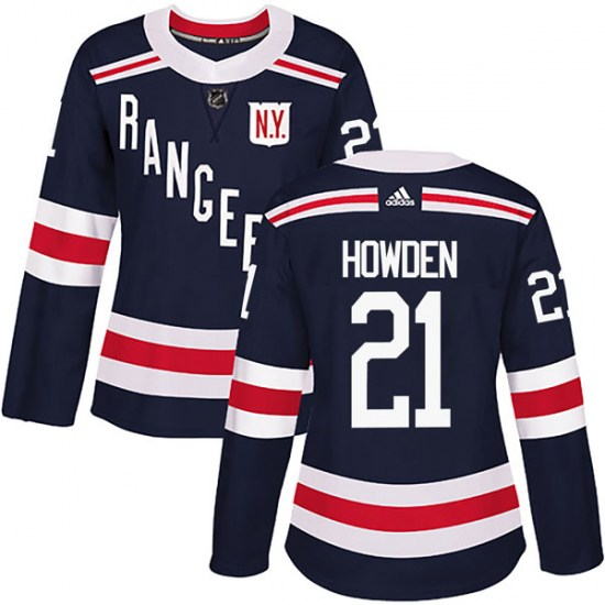 Adidas Brett Howden New York Rangers Women's Authentic 2018 Winter Classic Home Jersey - Navy Blue