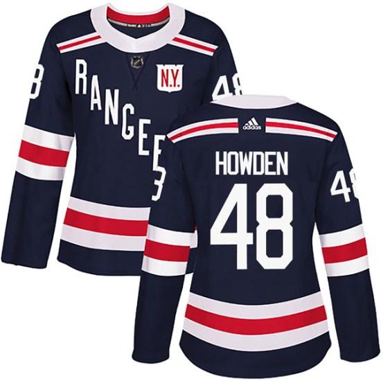 Adidas Brett Howden New York Rangers Women's Authentic 2018 Winter Classic Home Jersey - Navy Blue