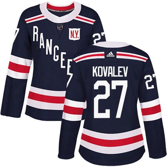 Adidas Alex Kovalev New York Rangers Women's Authentic 2018 Winter Classic Home Jersey - Navy Blue