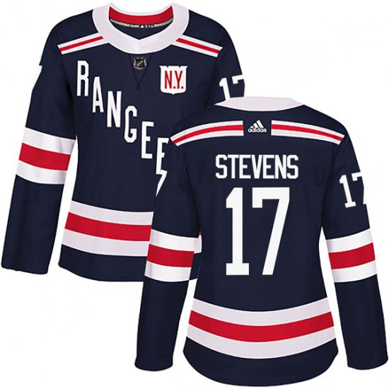 Adidas Kevin Stevens New York Rangers Women's Authentic 2018 Winter Classic Home Jersey - Navy Blue