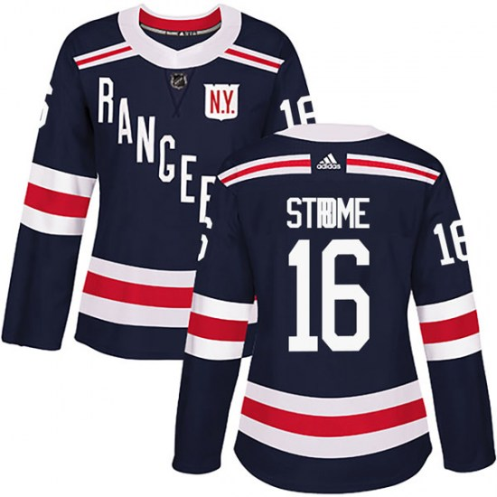 Adidas Ryan Strome New York Rangers Women's Authentic 2018 Winter Classic Home Jersey - Navy Blue