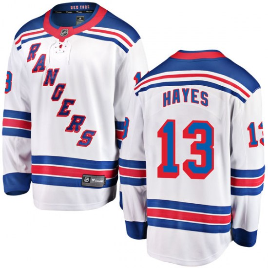 Fanatics Branded Kevin Hayes New York Rangers Youth Breakaway Away Jersey - White