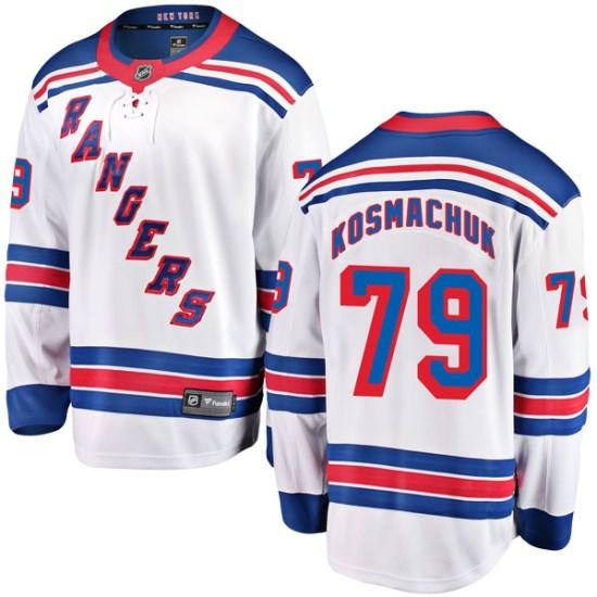 Fanatics Branded Scott Kosmachuk New York Rangers Youth Breakaway Away Jersey - White