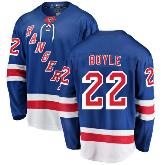 Fanatics Branded Dan Boyle New York Rangers Youth Breakaway Home Jersey - Blue