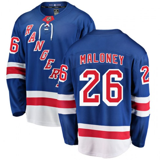 Fanatics Branded Dave Maloney New York Rangers Youth Breakaway Home Jersey - Blue