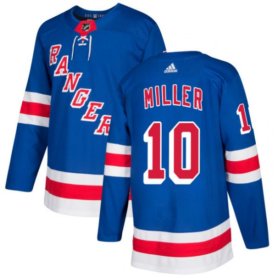 Adidas J.T. Miller New York Rangers Authentic Jersey - Royal