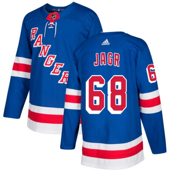 Adidas Jaromir Jagr New York Rangers Authentic Jersey - Royal