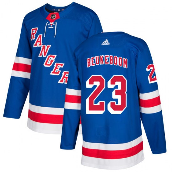 Adidas Jeff Beukeboom New York Rangers Authentic Jersey - Royal