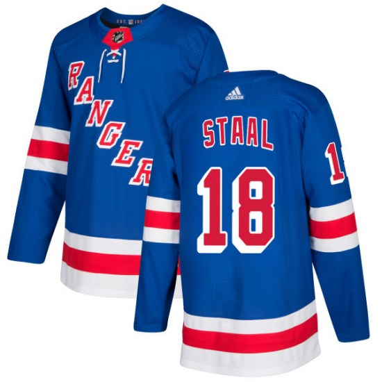 Adidas Marc Staal New York Rangers Authentic Jersey - Royal