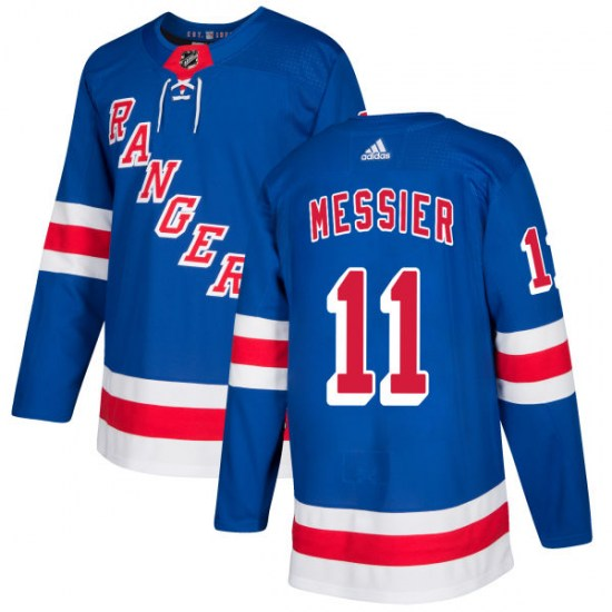 Adidas Mark Messier New York Rangers Authentic Jersey - Royal