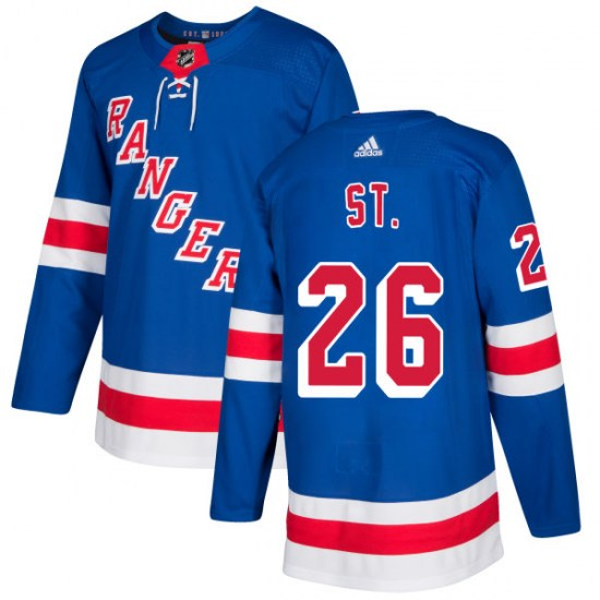 Adidas Martin St. Louis New York Rangers Authentic Jersey - Royal