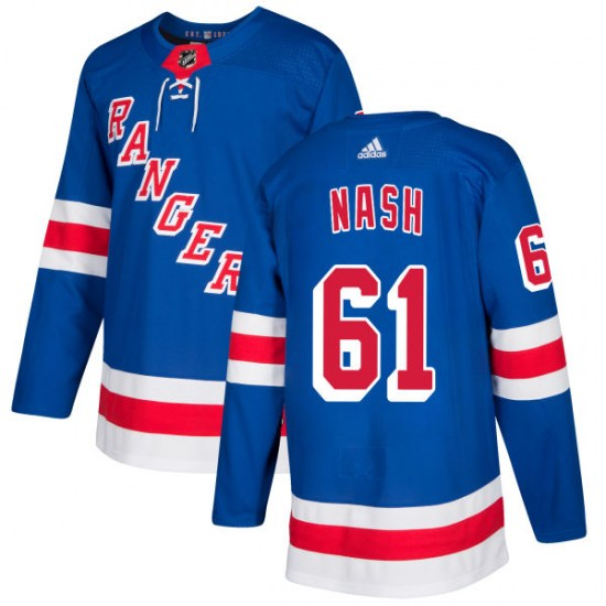 Adidas Rick Nash New York Rangers Authentic Jersey - Royal