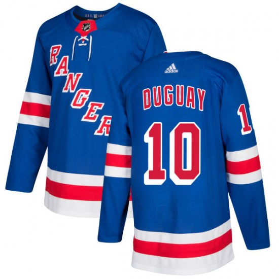 Adidas Ron Duguay New York Rangers Authentic Jersey - Royal