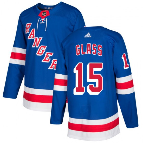Adidas Tanner Glass New York Rangers Authentic Jersey - Royal