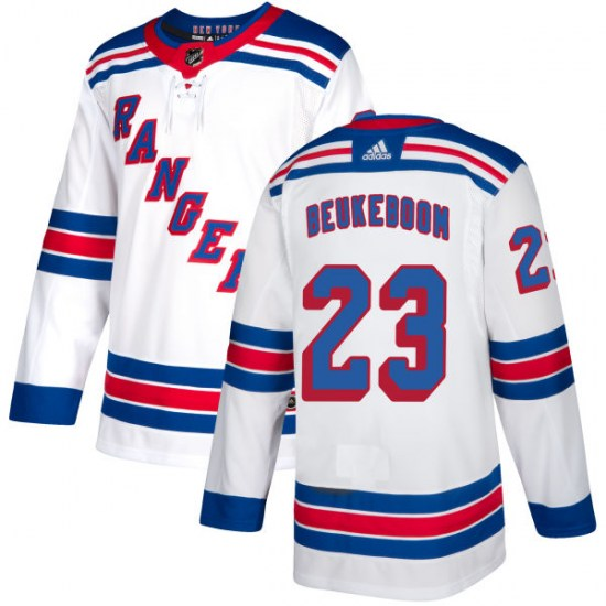 Adidas Jeff Beukeboom New York Rangers Authentic Jersey - White
