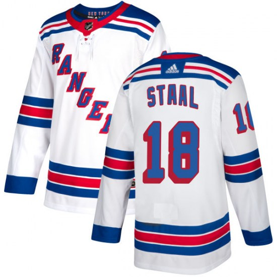 Adidas Marc Staal New York Rangers Authentic Jersey - White