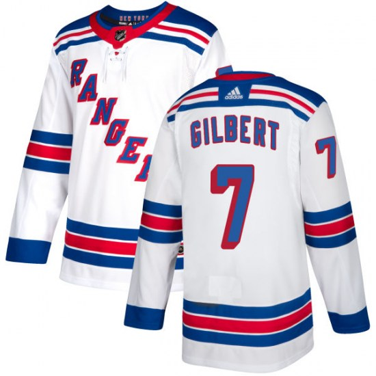 Adidas Rod Gilbert New York Rangers Authentic Jersey - White